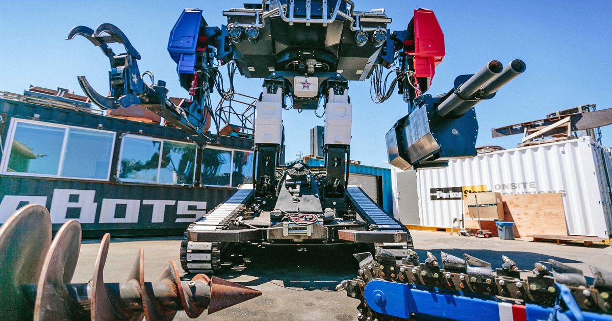 Giant robot fight organizers say they want giant robot fighting league