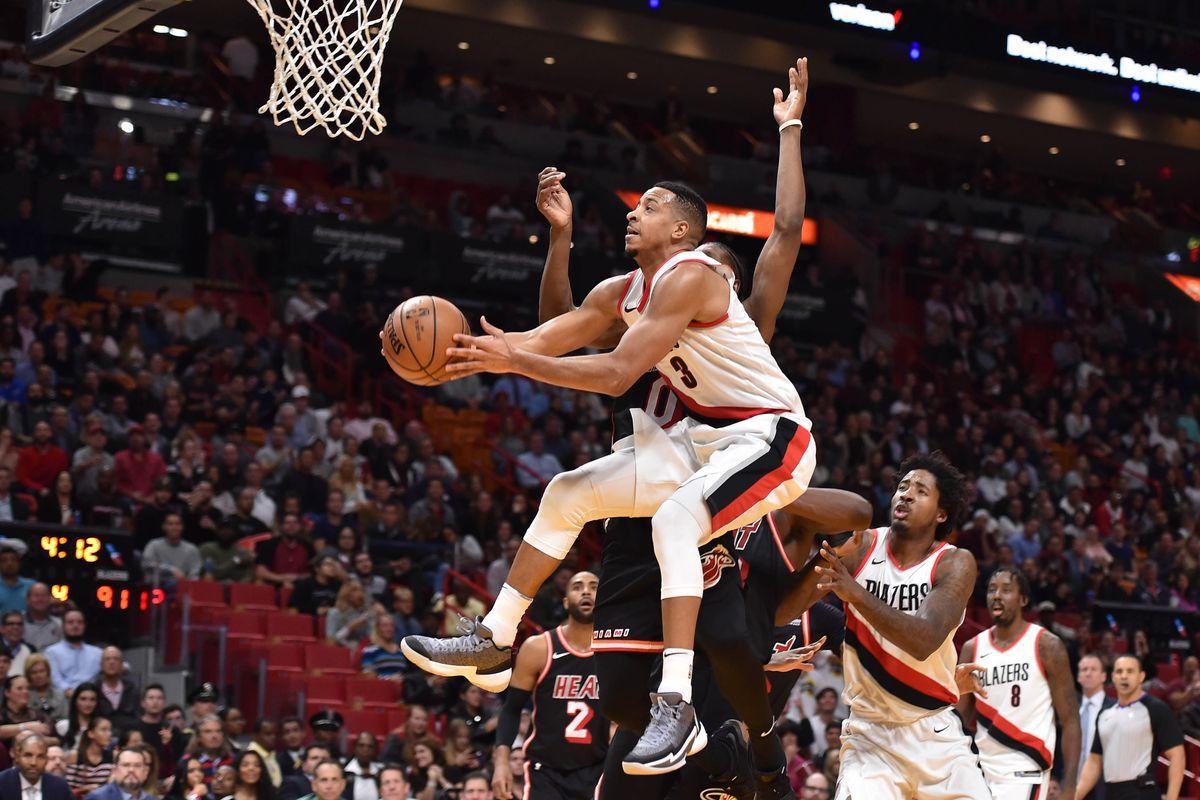NBA: Portland Trail Blazers at Miami Heat