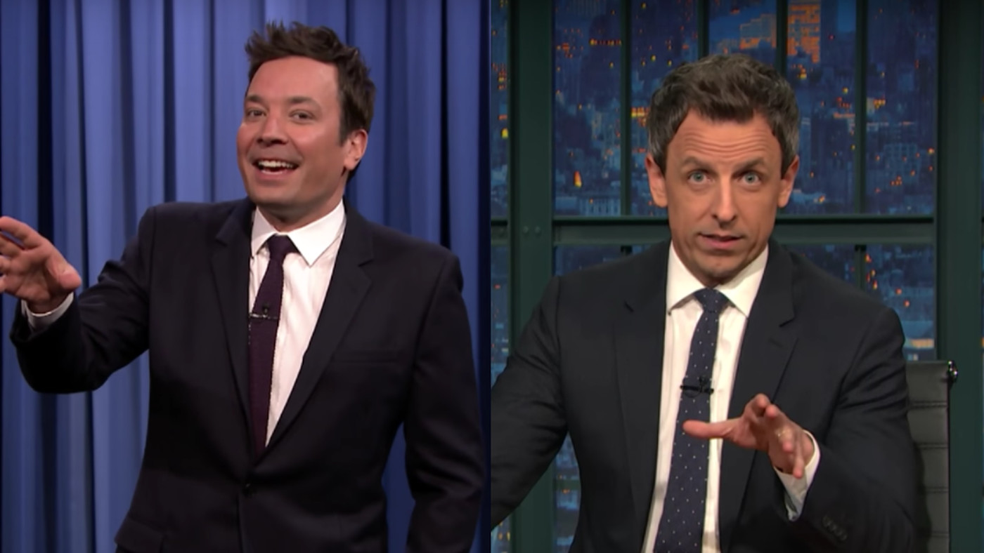 Jimmy Fallon and Seth Meyers are the faces of a growing