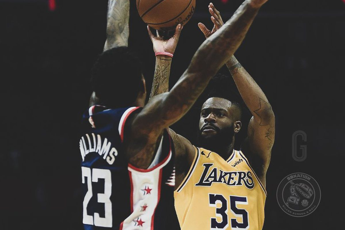reputable site cf9f7 3dd57 Laker Film Room: How Reggie Bullock can help the Lakers with ...