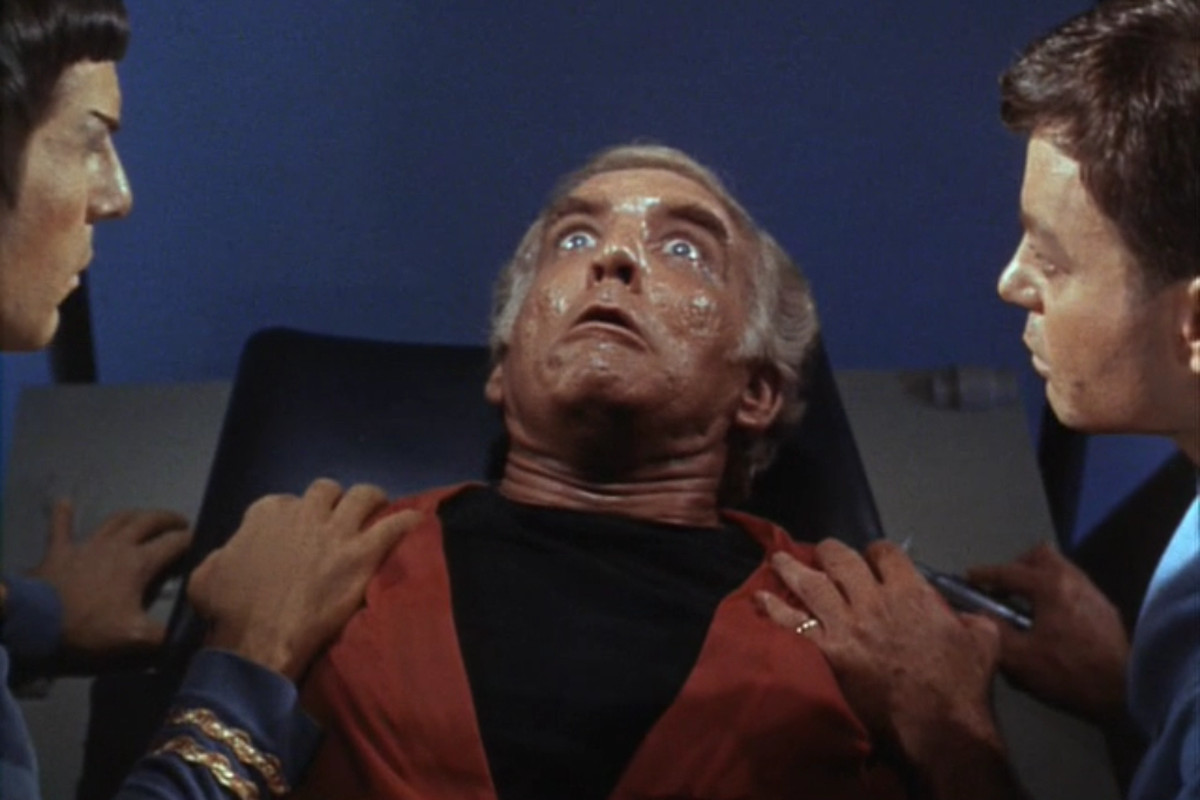Better bring out the mindmeld, Spock