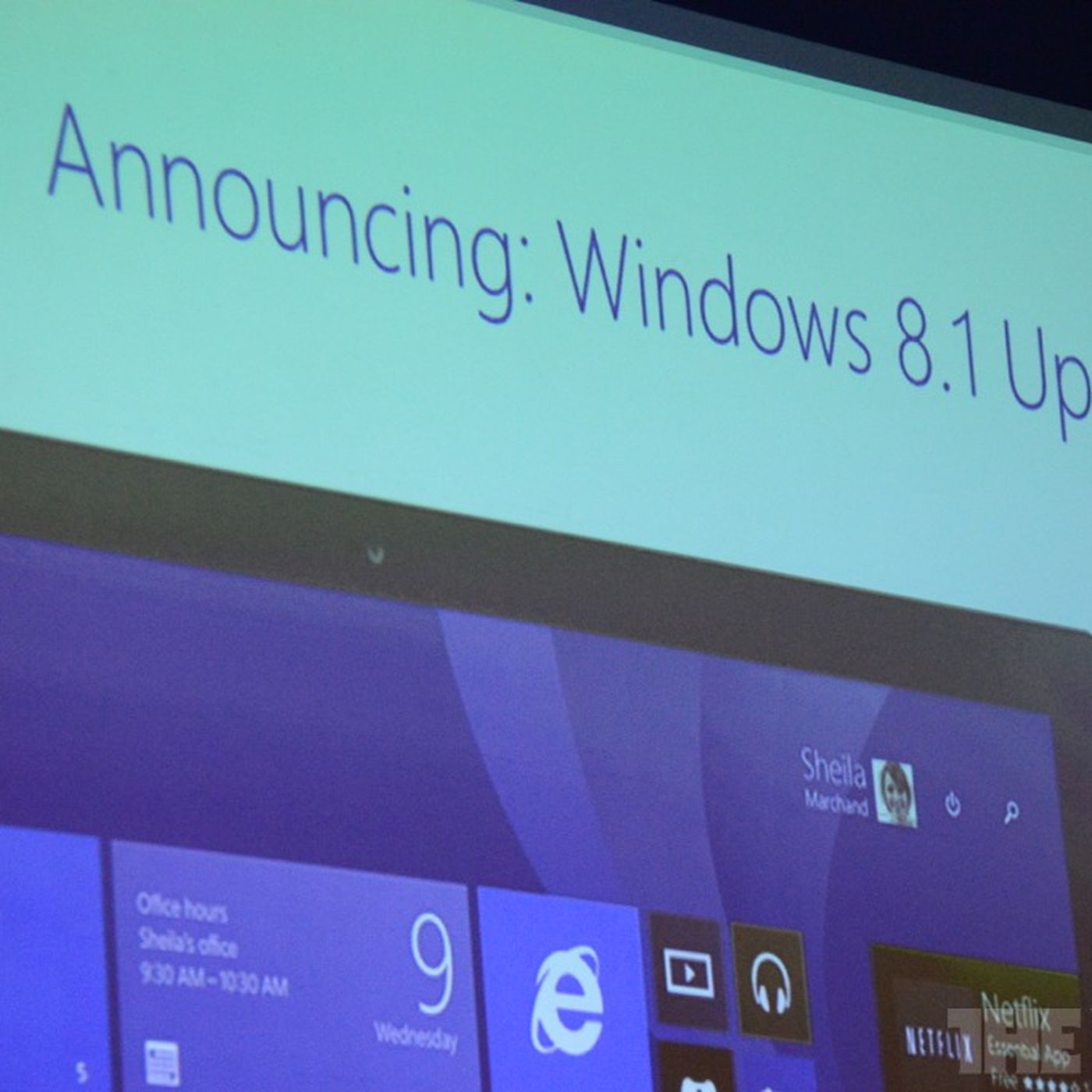 Microsoft announces 'spring' update for Windows 8 1 - The Verge