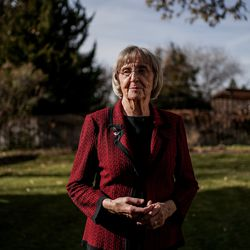 Helen Lower Simmons poses for a photo at her home in Logan on Thursday, Nov. 14, 2019. Simmons' brother, Max Wendell Lower, was killed when his plane was shot down during the Operation Tidal Wave attacks on Romanian oil refineries during World War II. His remains were recently identified using DNA technology and will soon be returned to his family in Utah.
