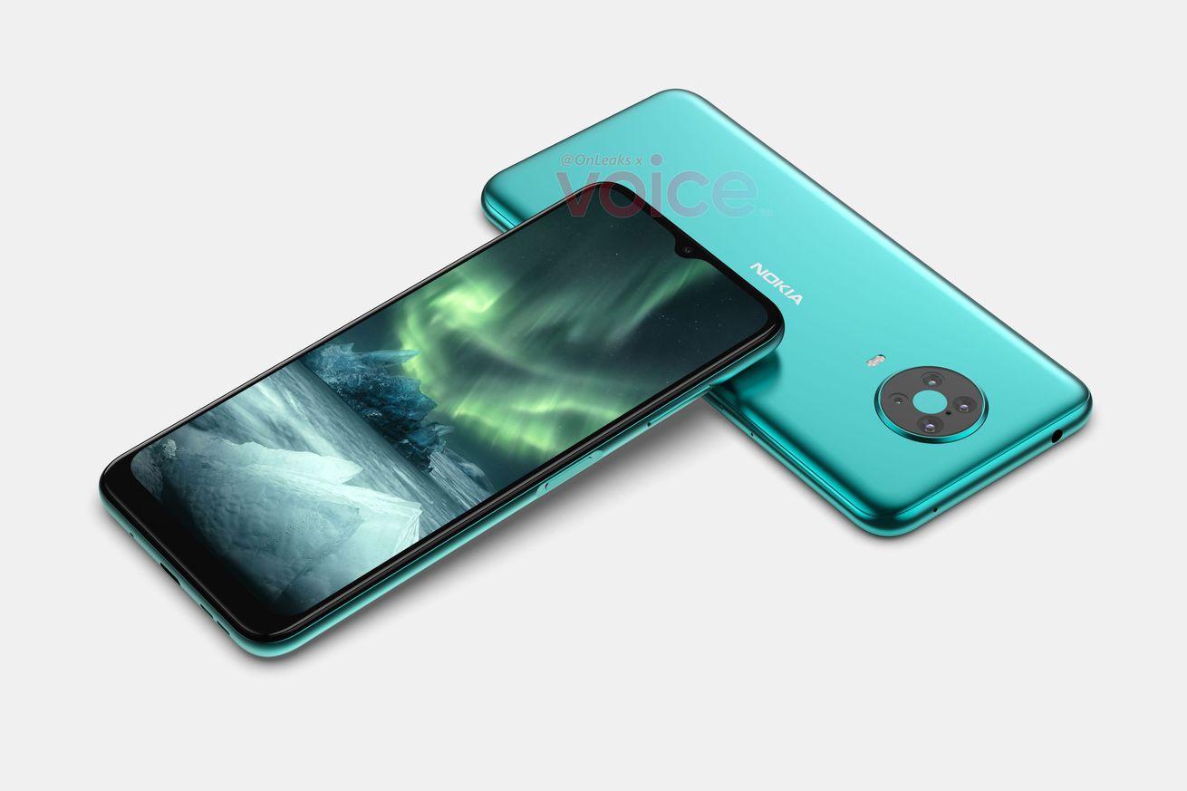 Successor to HMD's Nokia 6.2 leaks with side-mounted fingerprint sensor