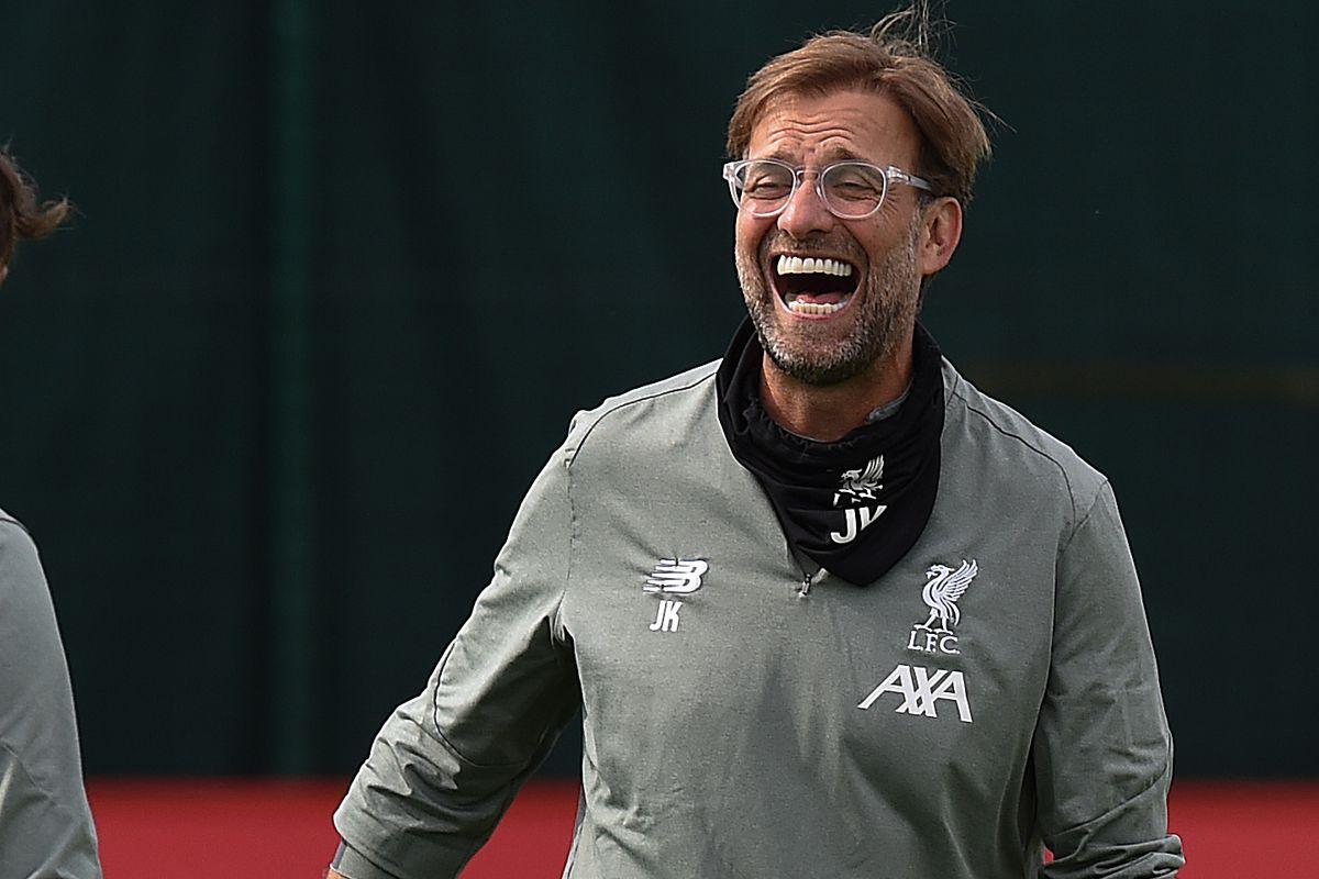 Liverpool Training Session