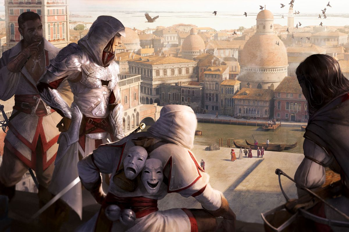 The Assassin S Creed Board Game Is Pretty But Slow Polygon
