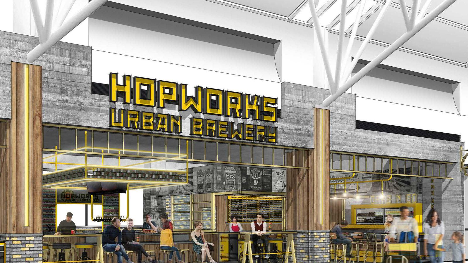 Portland Airport Adds Hopworks and Deschutes Breweries Eater Portland