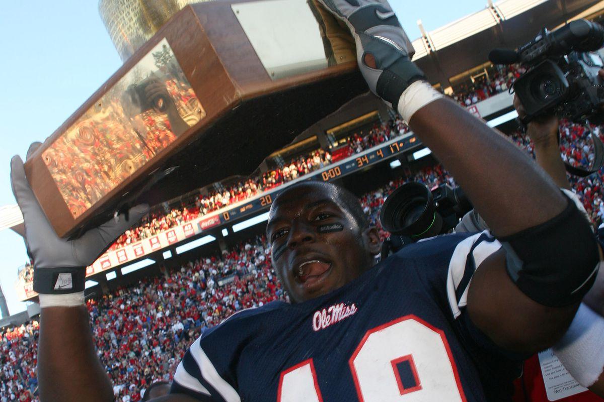 NCAA Football - Mississippi State vs Mississippi - November 25, 2006