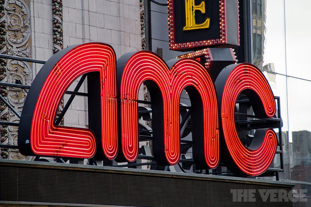 AMC movie theater logo (STOCK)