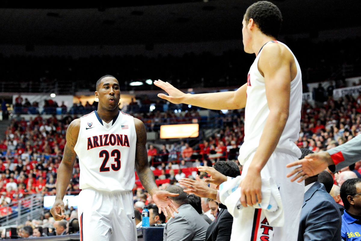 new arrival 41dbd 9d021 NCAA Tournament 2014: Arizona's Aaron Gordon, Rondae Hollis ...