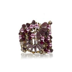 """Meredith fuchsia embellished <a href=""""http://www.aftershockplc.us/accessories/meredith-fuchsia.html"""">bracelet</a>, $95"""
