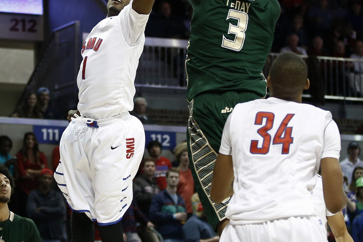 Zach LeDay (grabbing a rebound) and the bench played well in the previous encounter with SMU