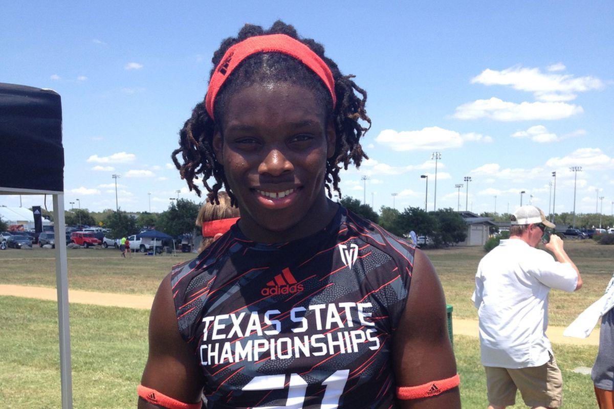 Malik Jefferson at Texas State 7on7
