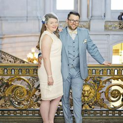 """""""We decided to get married in San Francisco to make it about us — and to plan an awesome trip around the wedding."""""""