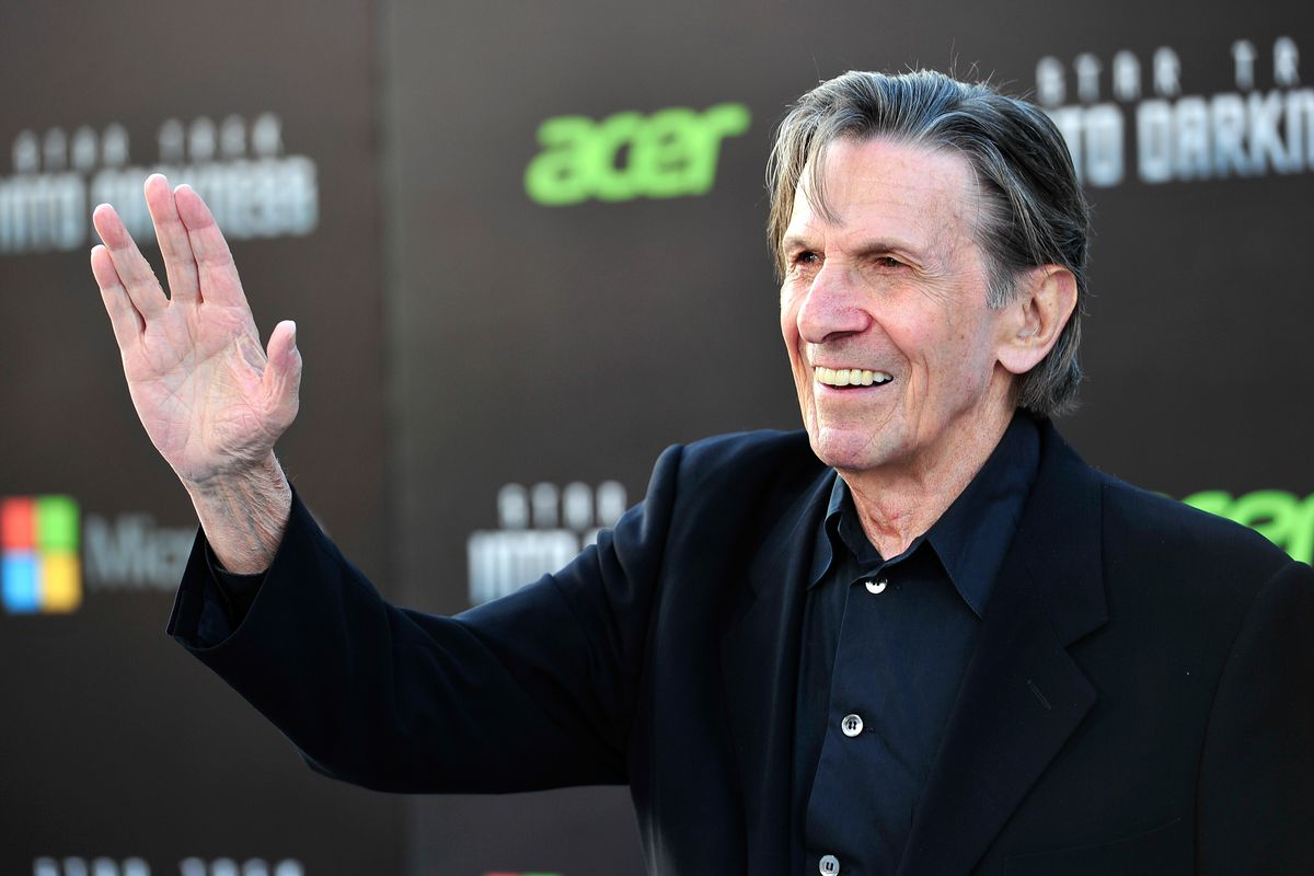 """Leonard Nimoy at the premiere Of Paramount Pictures' """"Star Trek Into Darkness"""""""