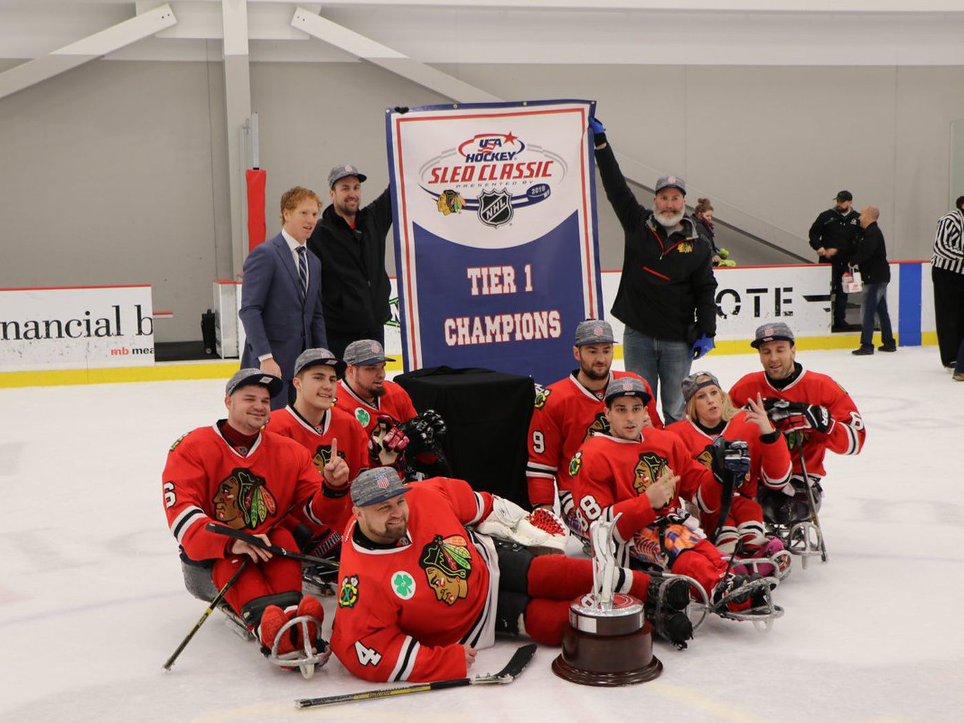 2019 USA Hockey Sled Classic results: Blackhawks repeat as