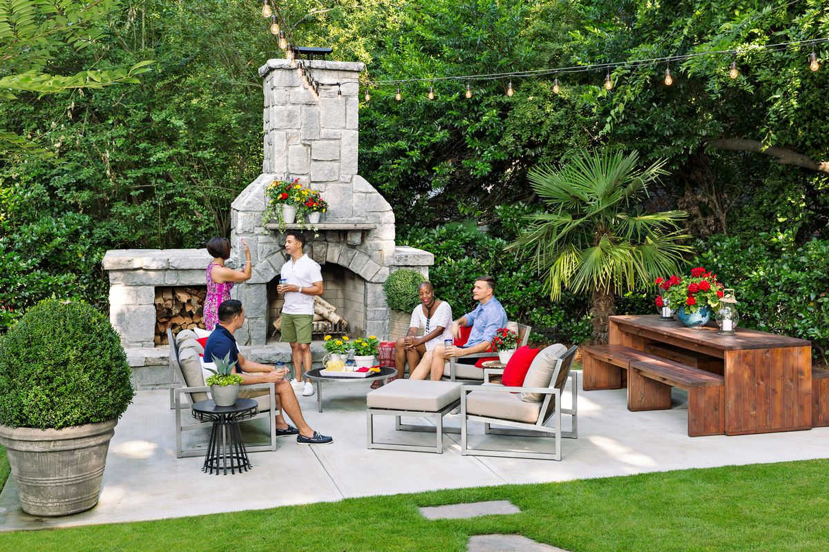 Backyards Terraced For Entertaining This Old House