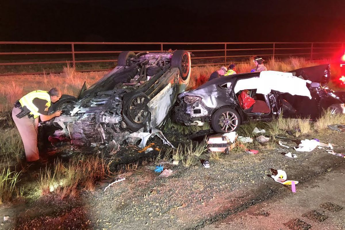 Three members of a North Carolina family were killed and a fourth critically injured in a head-on crash near Scipio. A Sandy woman who admitted to killing three members of a North Carolina family in a head-on crash has been fined $10,000 and ordered to wa