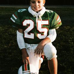 Joey Tucker, who his father says loved sports, at age 8.