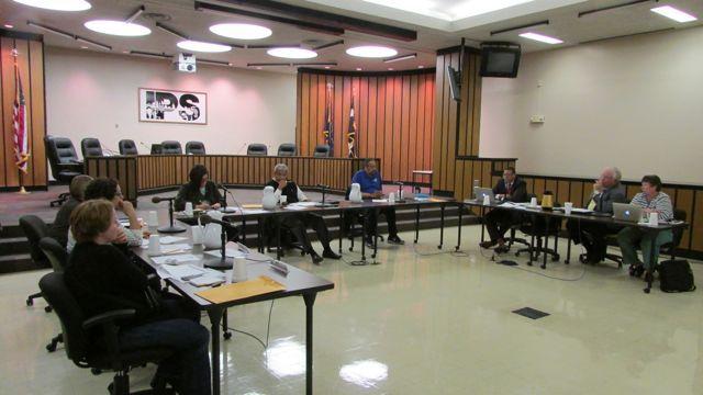 IPS school board's resources committee met Wednesday.