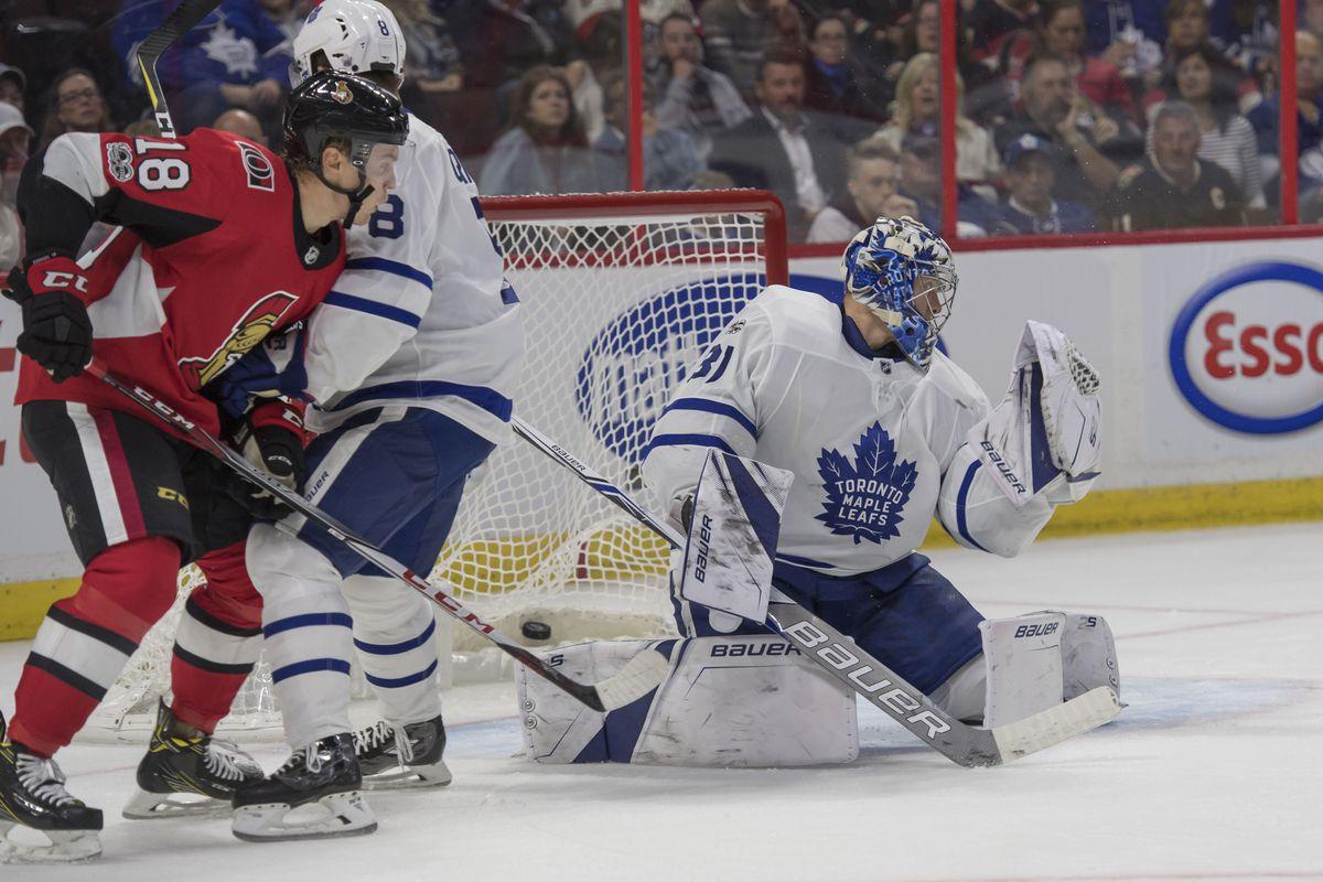 NHL: Toronto Maple Leafs at Ottawa Senators