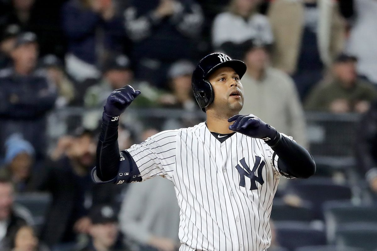 Aaron Hicks had an eventful 2019 when he wasn't out with injuries
