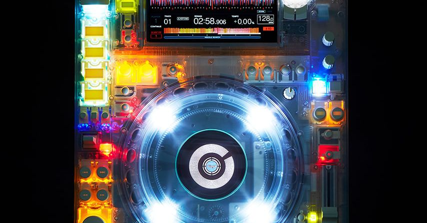 Designer Virgil Abloh collaborated with Pioneer DJ to create