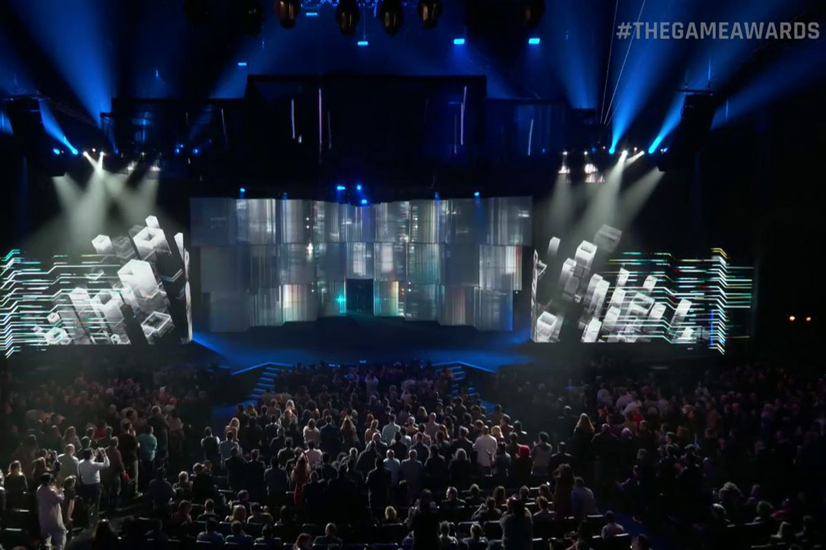 The Game Awards 2016 stage