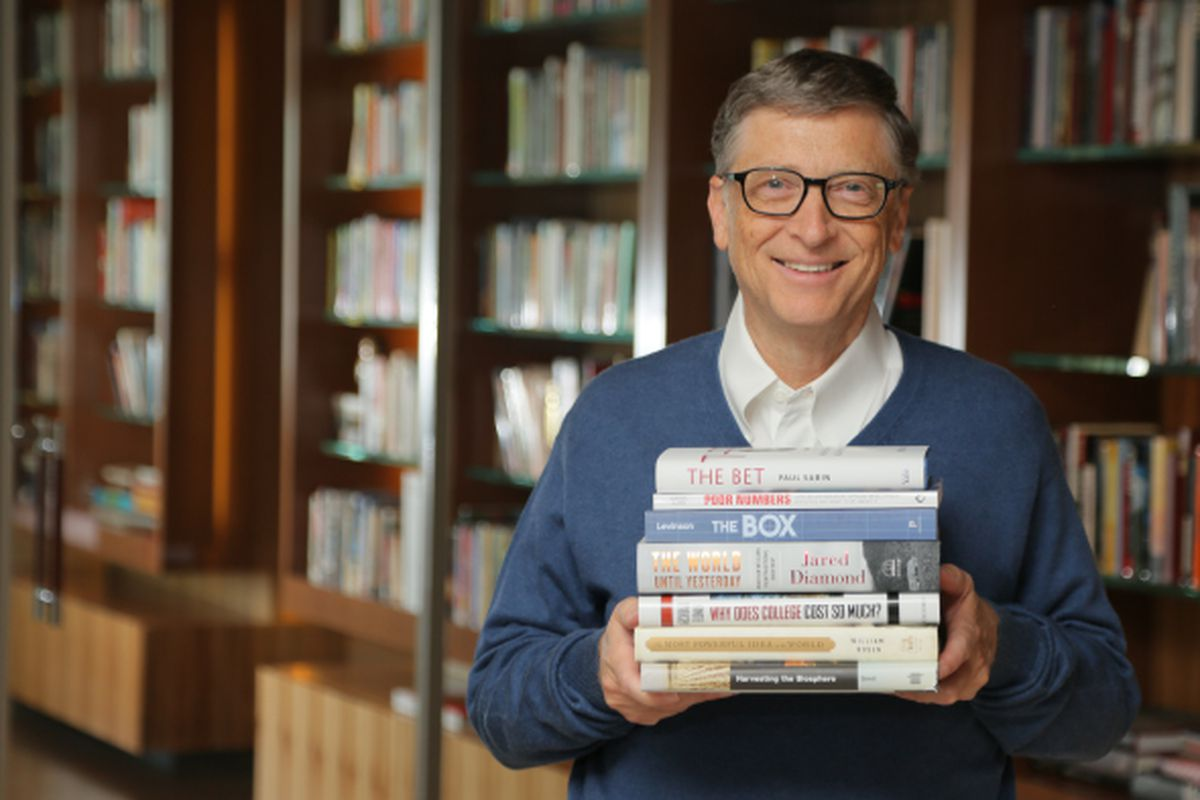 Bill Gates' favorite books of 2013 point to a better future
