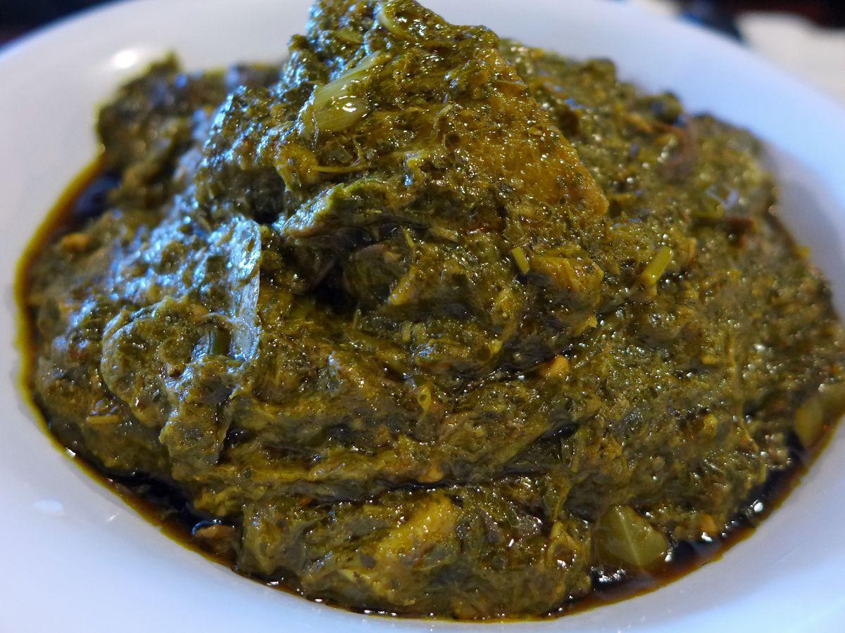 Sauce de feuilles