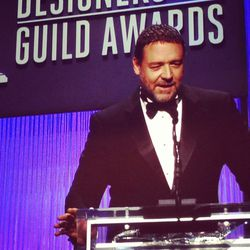 Whistles, flushed faces and roaring applause followed Russell Crowe, who introduced Lacoste Spotlight Award winner Anne Hathaway.