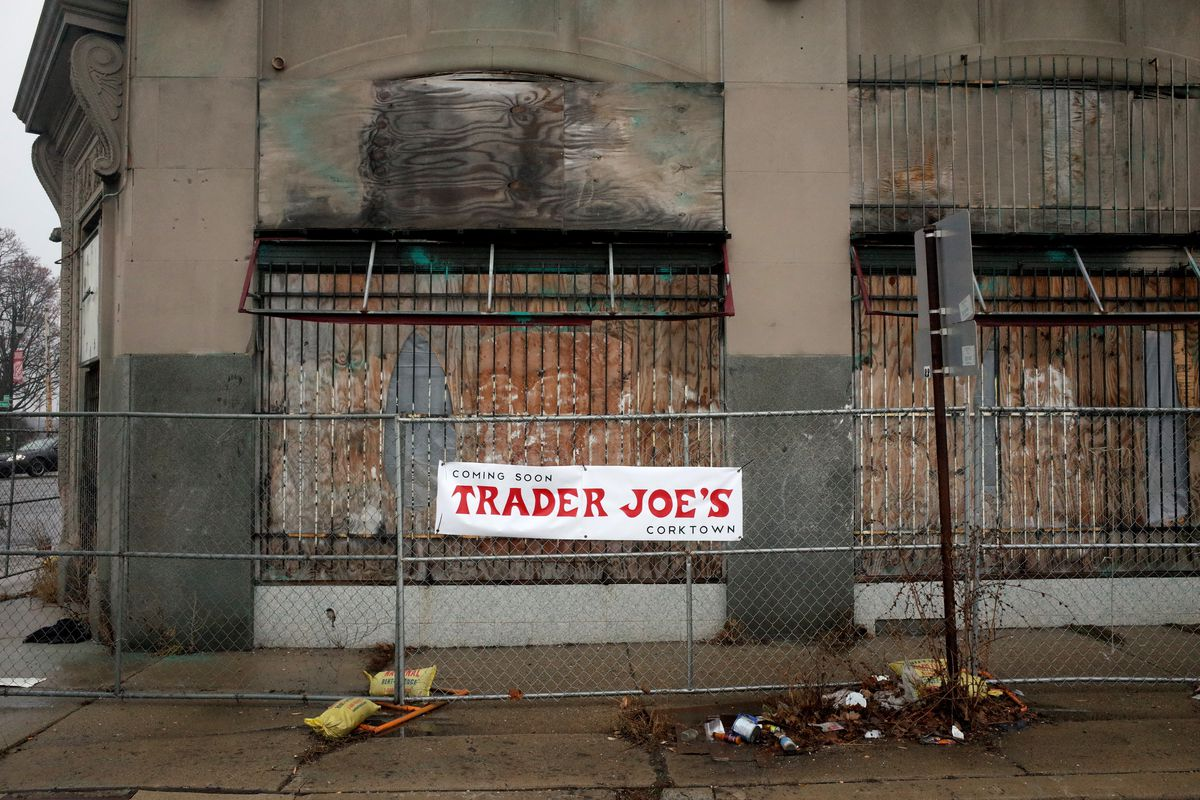 Is Trader Joe's Setting Up Shop in Corktown? [Updated ... on map of cargill locations, map of chick-fil-a locations, map of whole foods market locations, map of winco foods locations, map of bass pro shops locations, map of citibank locations, map of lifetime fitness locations, map of nasa locations, map of fairway market locations, map of food lion locations, map of qfc locations, map of 7-eleven locations, map of tires plus locations, map of rite aid locations, map of outback steakhouse locations, map of family dollar locations, map of gamestop locations, map of la fitness locations, map of bank of america locations, map of sears locations,