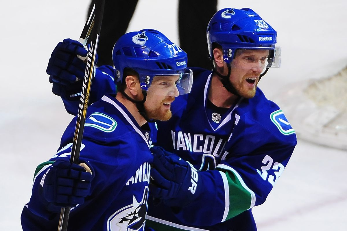 At least the Sedins got far enough to lose to the Kings in the playoffs