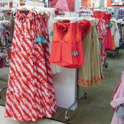 The maxi dress with some tops and other Calypso dresses