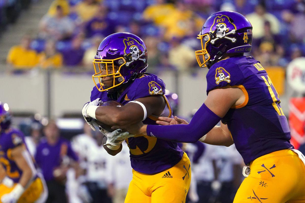 NCAA Football: Charleston Southern at East Carolina