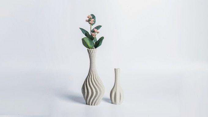 Flower in ceramic vase