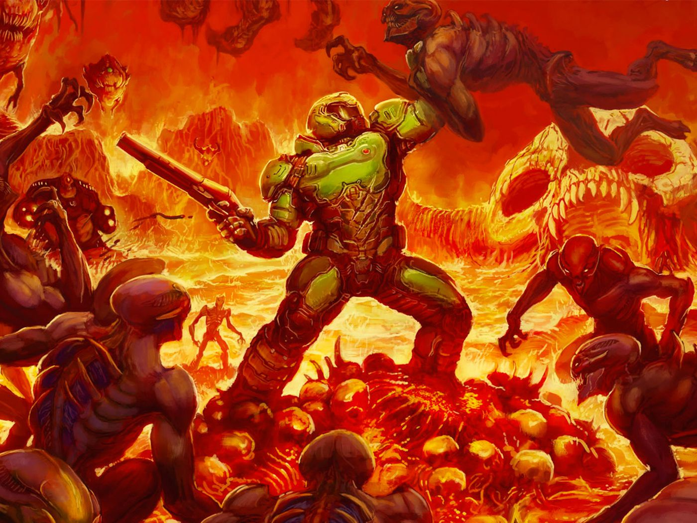 The New Doom Is Getting Alternate Box Art That Looks Way Better