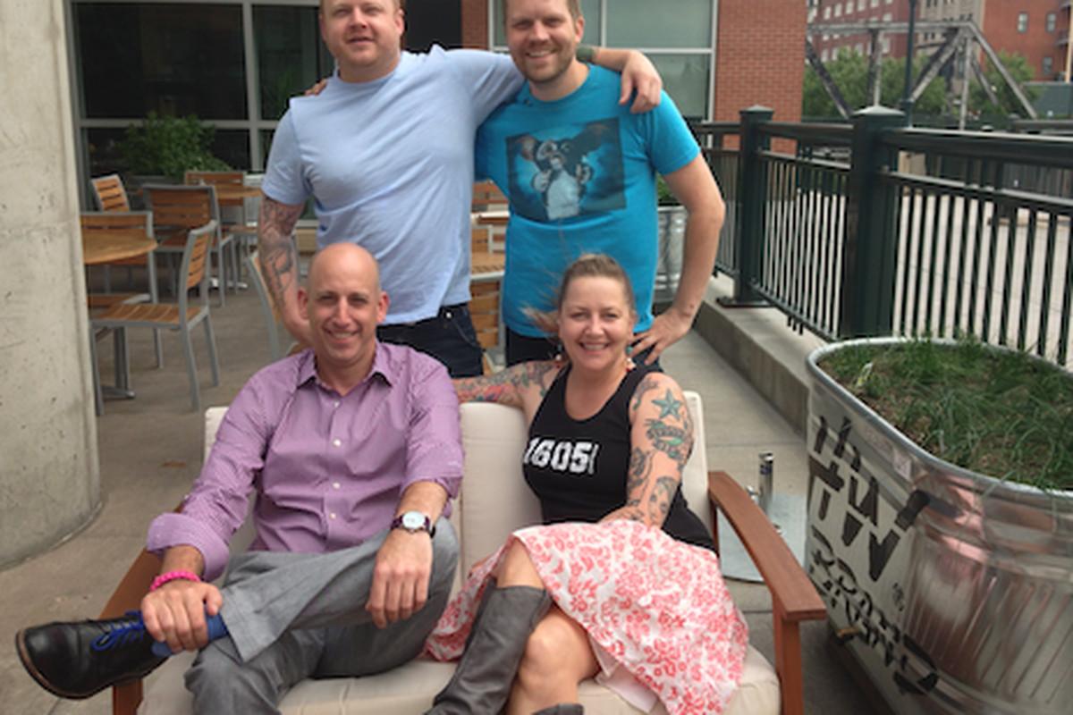 Jonathan Greschler, Anika Zappe, Noah Heaney, and Brian Smith