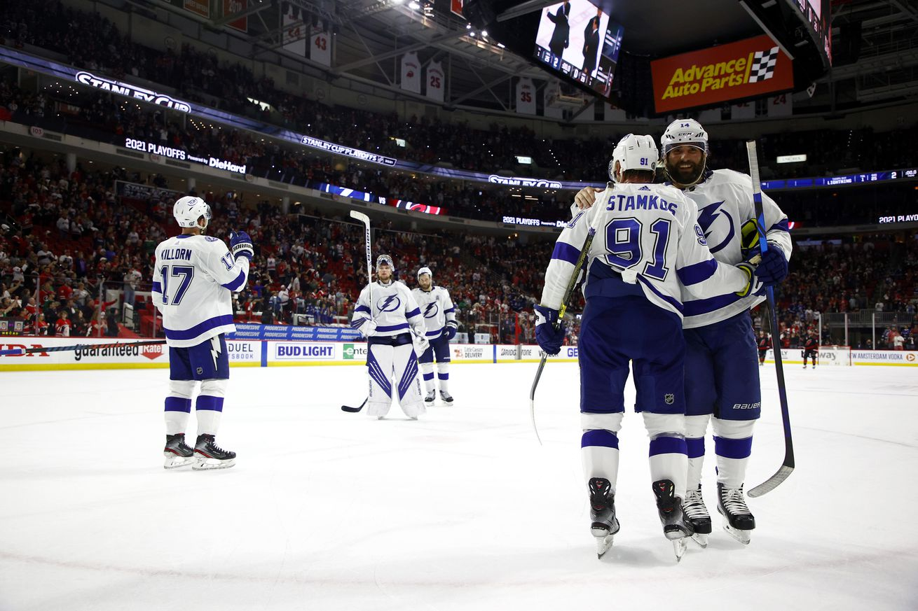 Tampa Bay Lightning v Carolina Hurricanes - Game Five