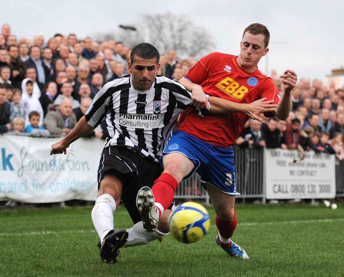 Soccer - FA Cup - First Round - Maidenhead United v Aldershot Town - York Road