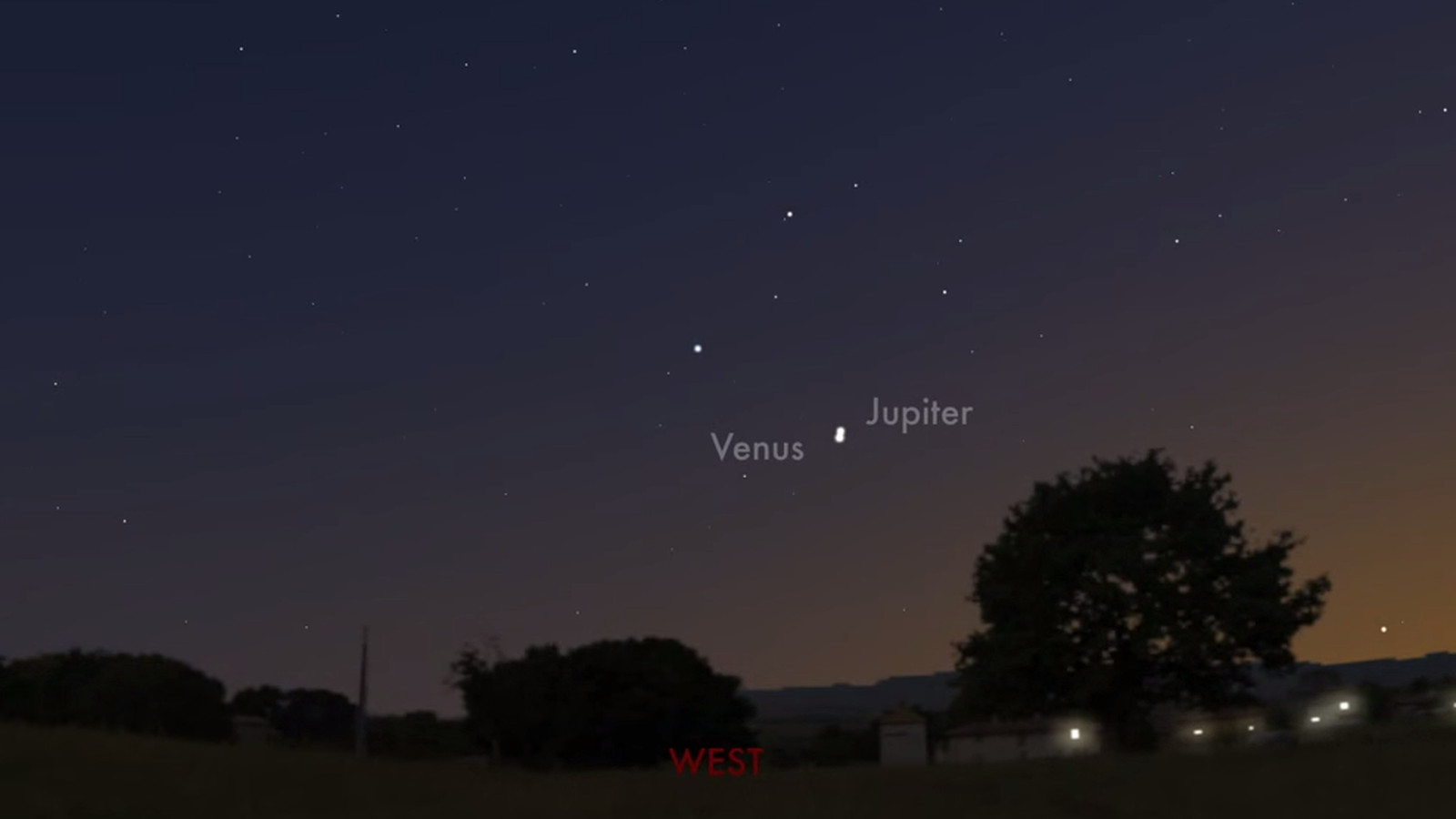 See Venus And Jupiter P Right By Each Other Tonight Without A Telescope Vox
