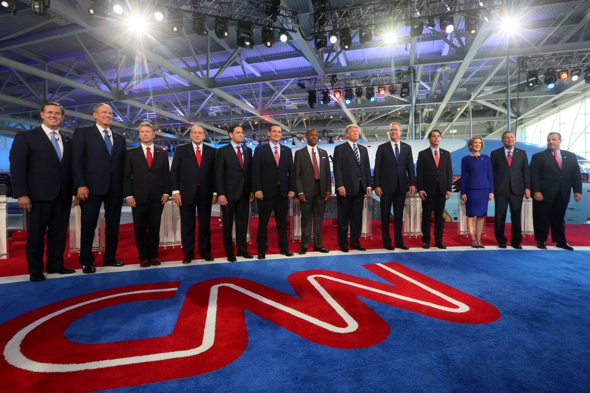 CNN's Republican debate on September 16, 2015.