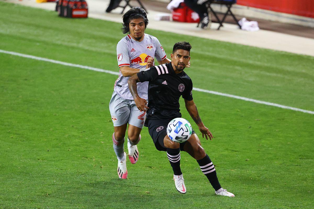 SOCCER: OCT 07 MLS - Inter Miami CF at New York Red Bulls