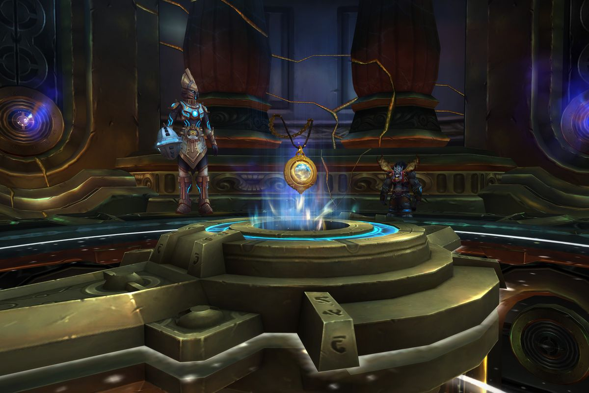 Heart of Azeroth World of Warcraft 8.2