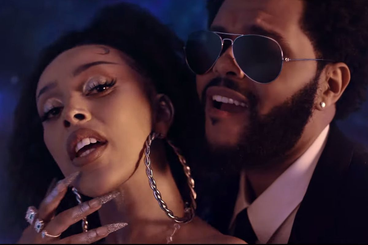 Doja Cat and The Weeknd