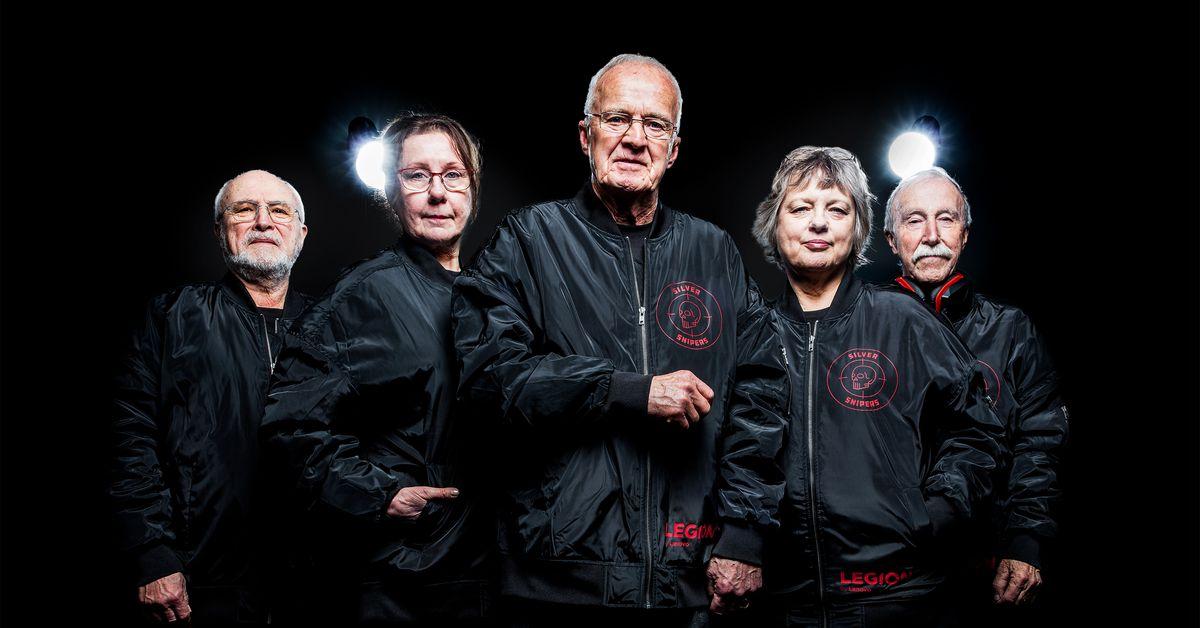 Meet the Counter Strike e-sports team where everyone is over 60