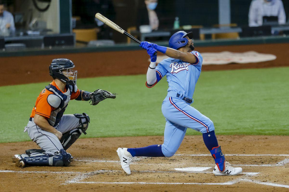 MLB: SEP 27 Astros at Rangers