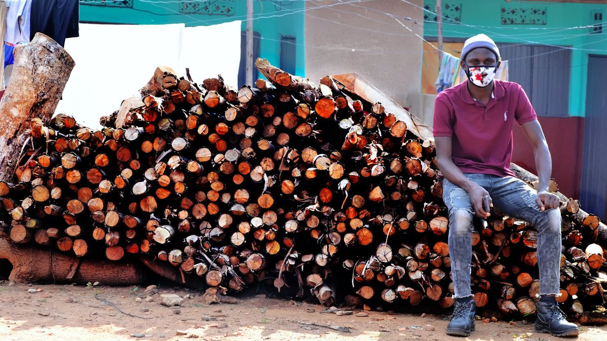 Nyombi Morris is a climate activist from Kampala, Uganda who has pushed to preserve the Bugoma Forest