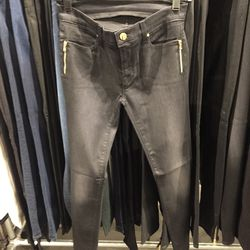 J Brand x Selfridges pants with gold-plated zippers, $79