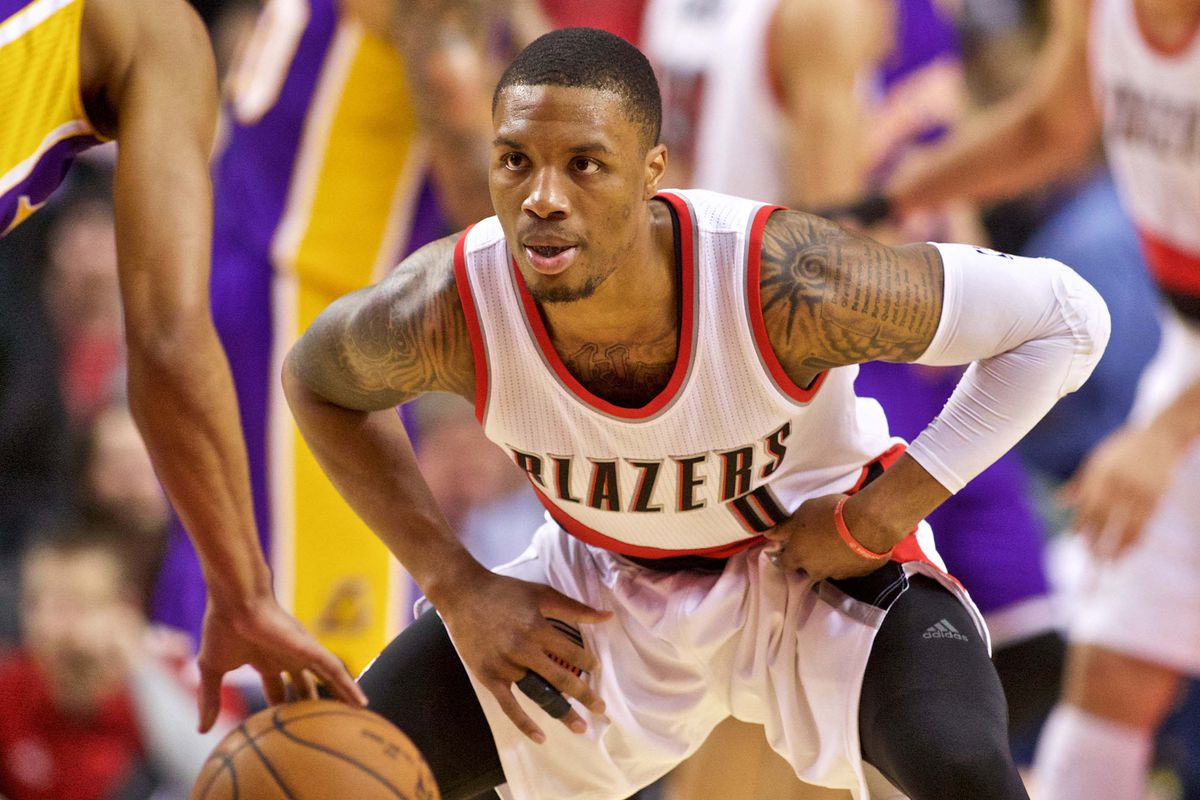 d6f10bd0a In-Arena Report  Trail Blazers Dismantle Lakers